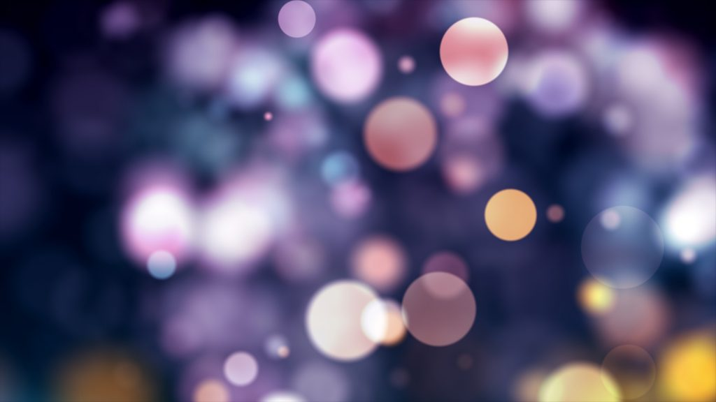 Abstract bokeh circles